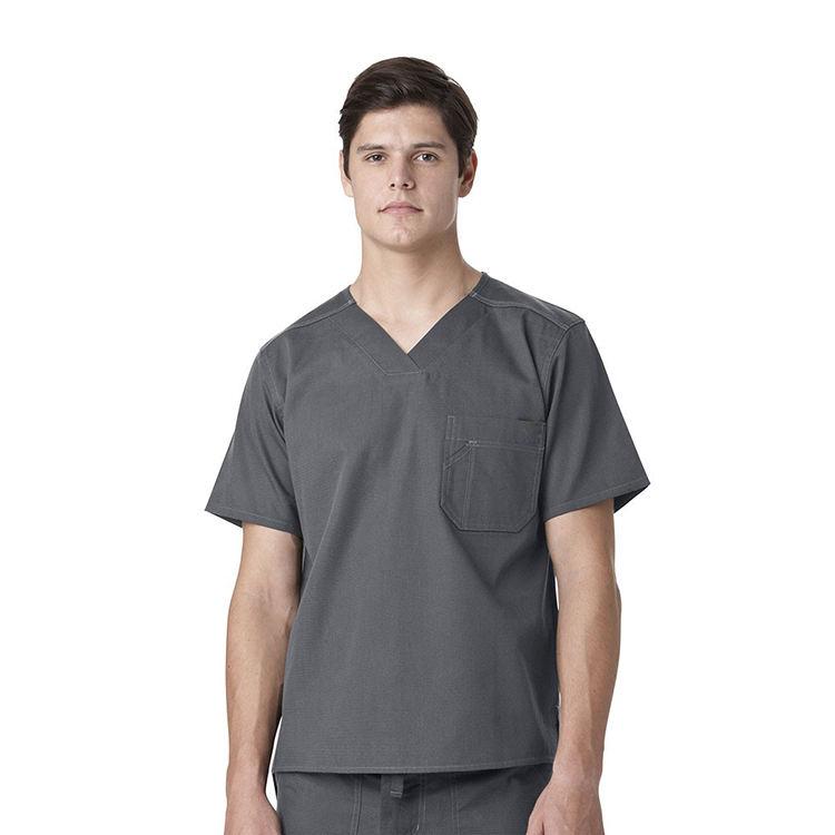 100% Polyester Tıbbi Hemşirelik Scrubs Üniforma, standart Tekstil Scrubs Üreticileri