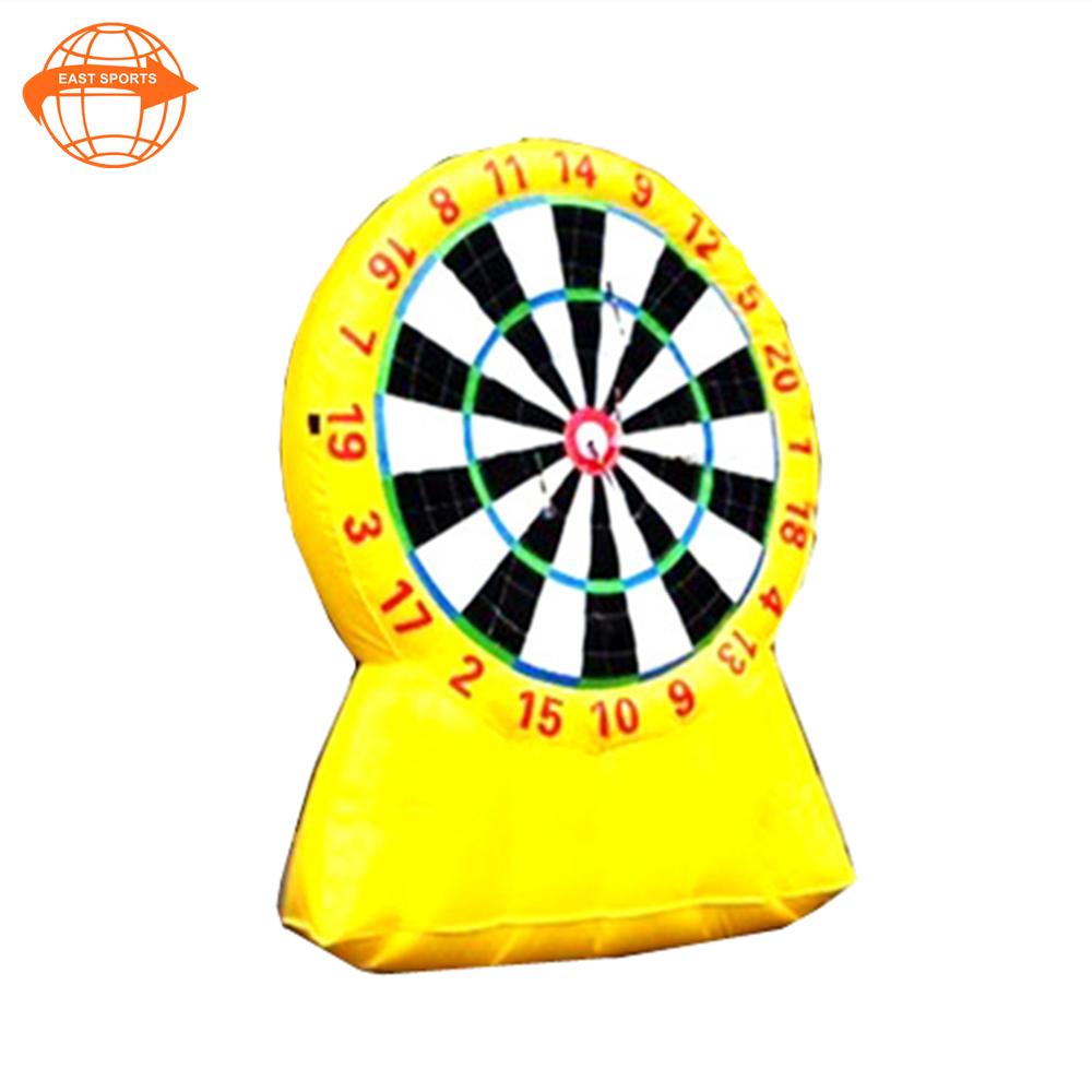 Vendita calda bambini gonfiabili boart/cibo dogsdoinkit freccette magnetico freccette per velcro target gioco