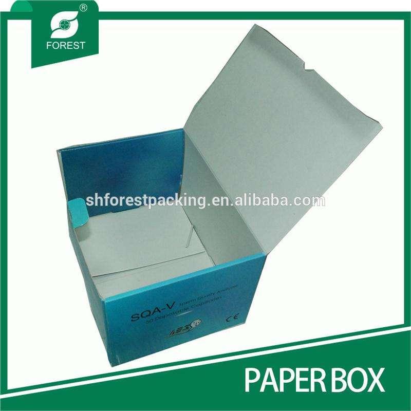 Экологичные складной бумажная коробка для упаковки фармацевтической продукции