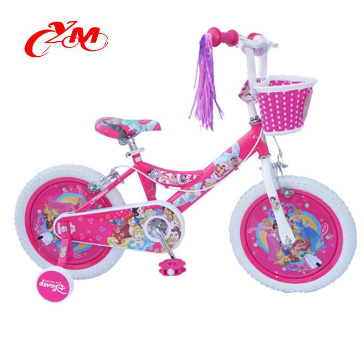 China al por mayor de las muchachas niños carretera 16 pulgadas bicicleta/barato nuevo modelo del niño en bicicleta con ruedas