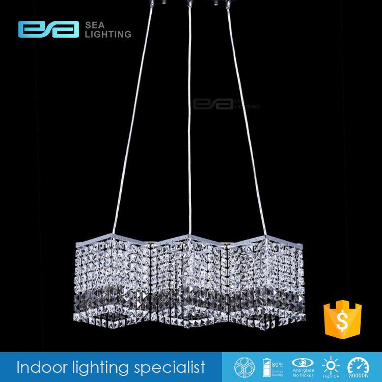 Garage sky star aluminium licht ersatz schmücken K9 kristall pendelleuchte 2103302