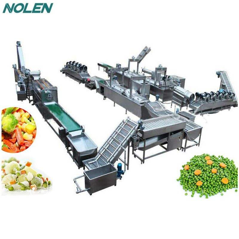 Good Price Frozen Vegetables Processing Line
