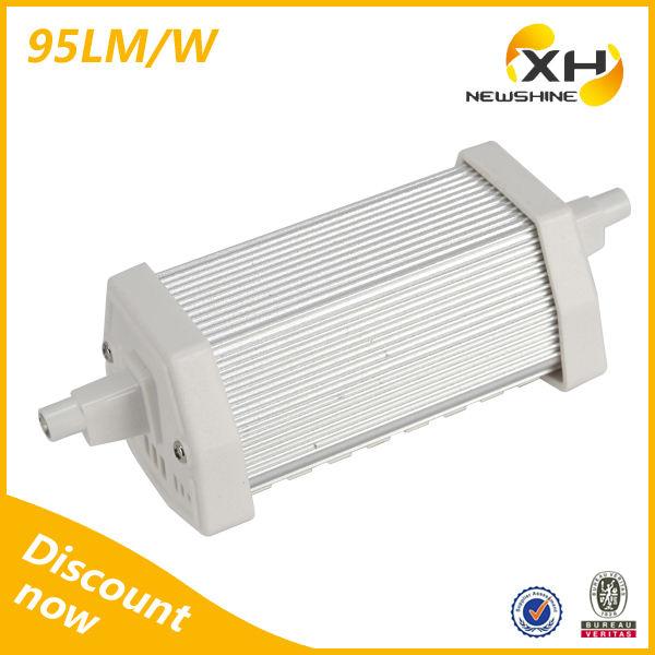 Amostra grátis de alta luz de poupança de energia slim 220-240v r7s dimmable