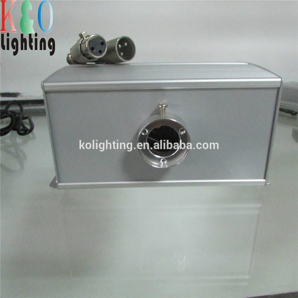 5 Вт из светодиодов мерцают волоконно оптические света комплект с рф пульта дистанционного управления и DMX singnal контроллер