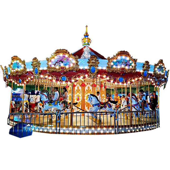 Carnival Luxury 36 Seat Carousel Ride For Sale Merry-gehen-runde