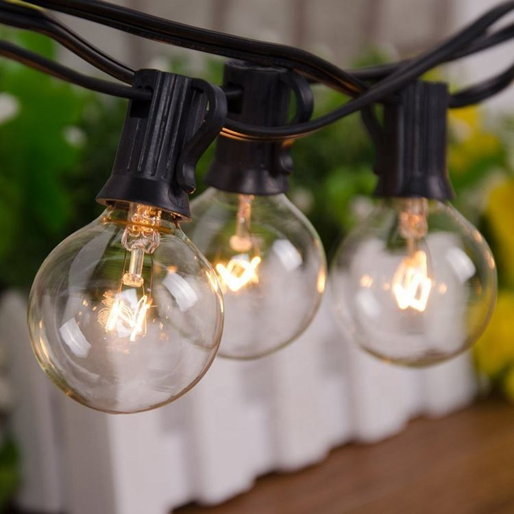 Hot artikel G40 globus lichterketten mit Incandescent Bulbs US EU UK stecker