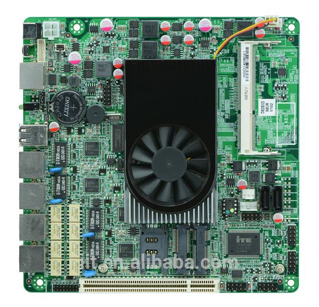 で、 中小規模のアプリケーションファイアウォールのハードウェアd525マザーボード4lan用バイパスと3グラムwifiをサポートしてい