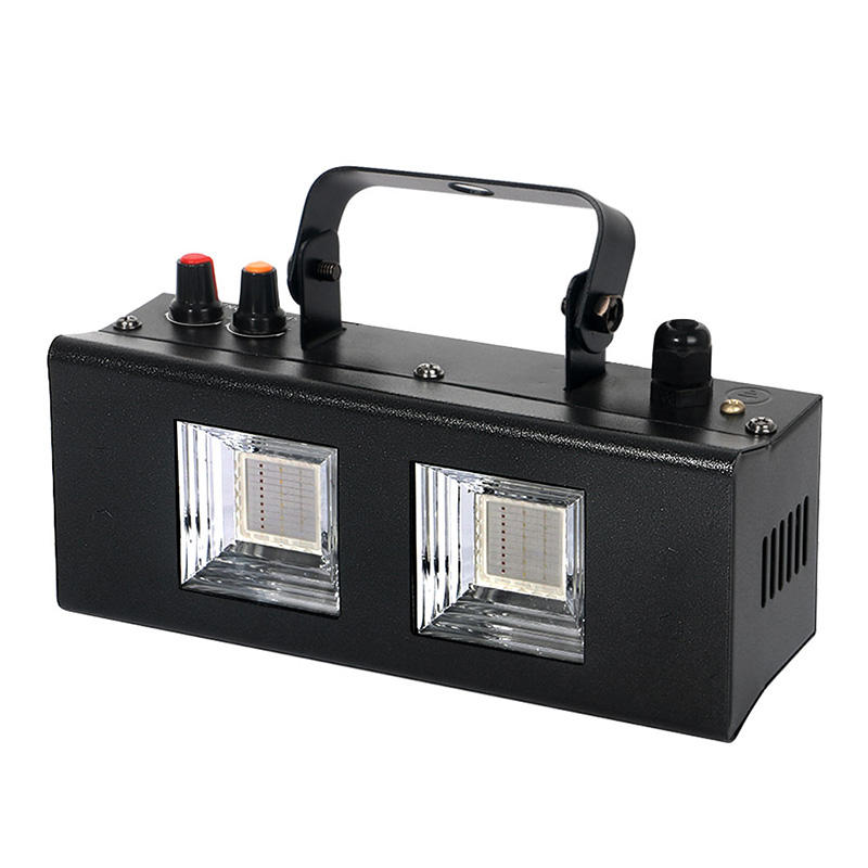 40 Вт COB Белый светодиод вспышки света для DJ