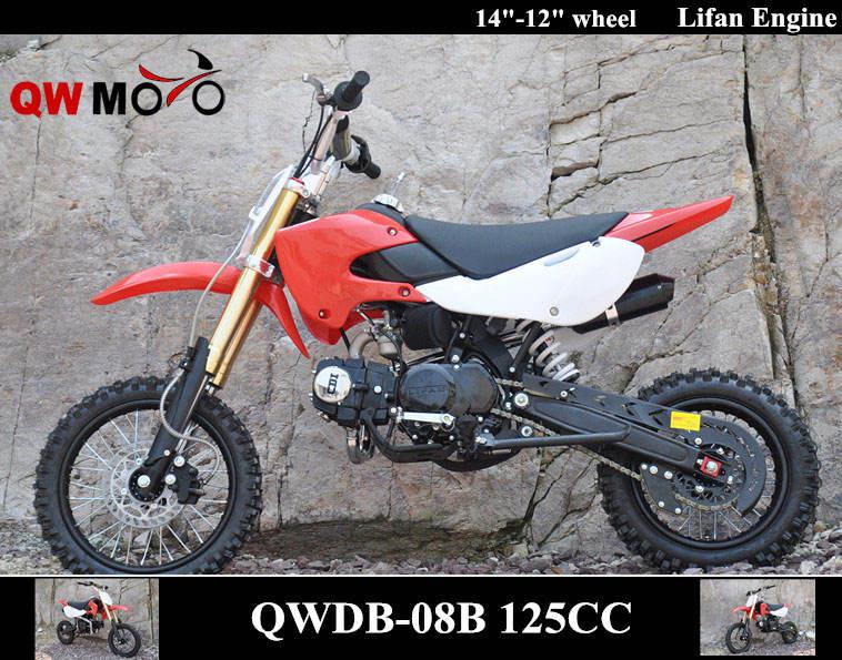 <span class=keywords><strong>Qwmoto</strong></span> ce 125cc 4 tiempos racing motocicleta 125cc bici de la suciedad bicicleta de cross para la venta barata