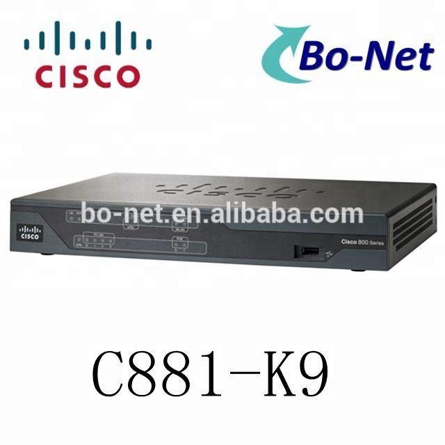 Nuovo Originale della Serie Cisco 880 Integrated Services Router C881-K9 della Serie Cisco 800 Router