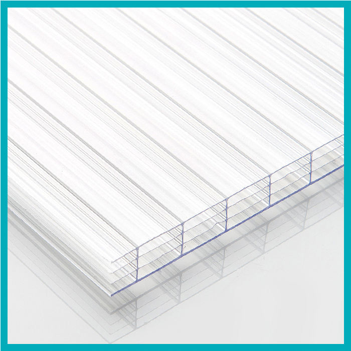 Высокий Прозрачный 18 Мм Парниковых Четыре Стены Поликарбонатный Лист