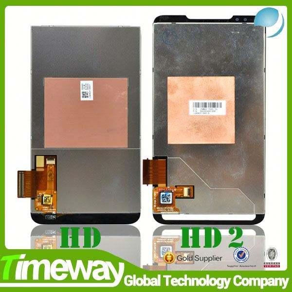 fábrica na china telefone móvel da tela de toque para htc hd2 t8585 digitador