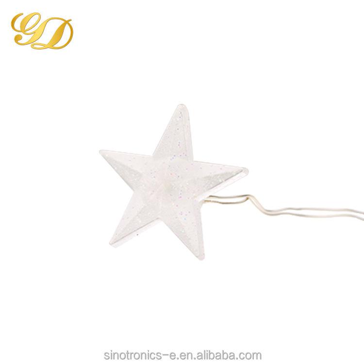 Vacances de noël Nom Et Standard Tension Étoiles Forme LED Jeu de Lumières
