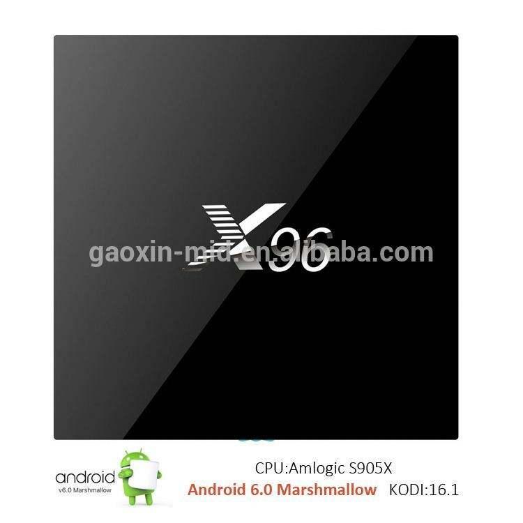 Modelo quente android 6.0 hdmi2.0A kodi android tv box