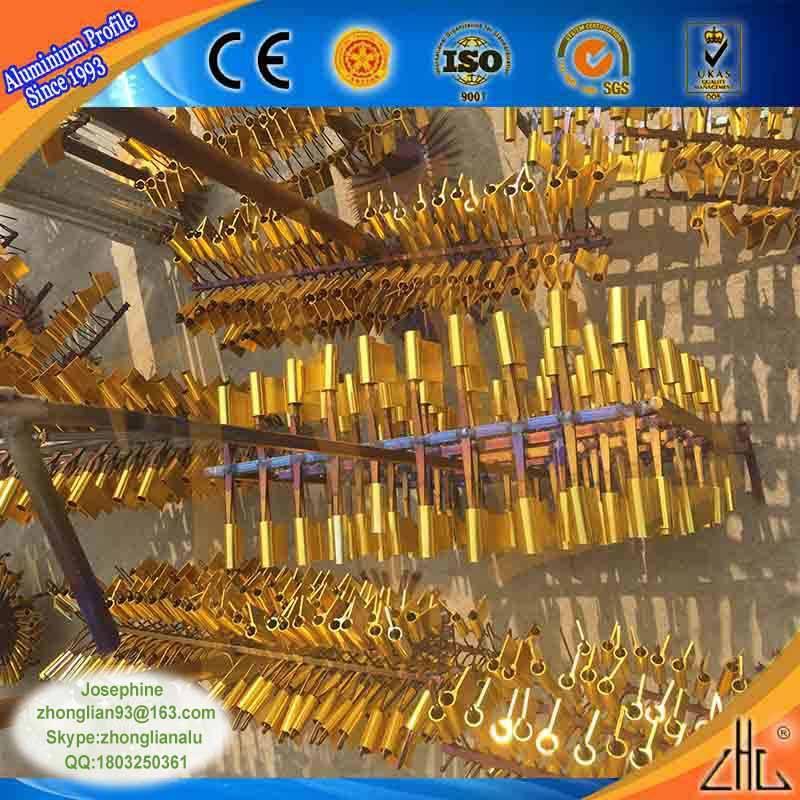 Caldo! Alluminio 6063 parti fresatura cnc rohs approvato colorato anodizzato oro- placcatura/zinco/<span class=keywords><strong>nichel</strong></span>/anodizzazione