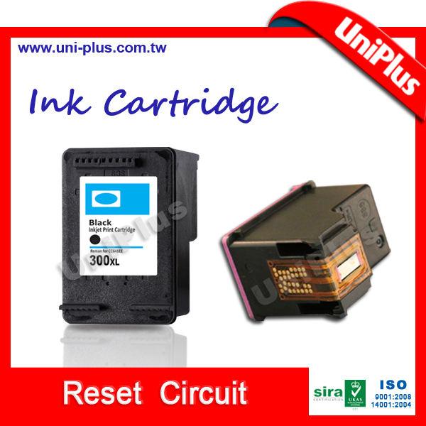 Cartucho de inyección de tinta reciclado con la viruta del reajuste para hp 300 xl cartucho de tinta