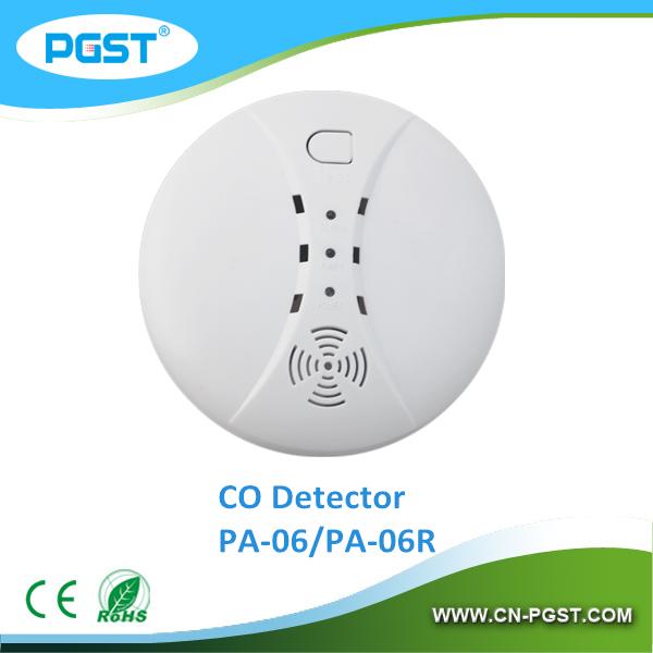 12 В беспроводной угарный газ детектор 433 мГц (PA-06RB) EN50291 CE RoHS