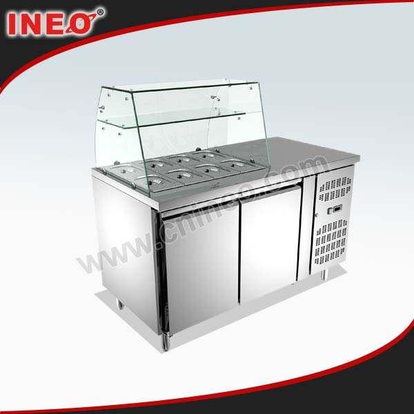 Commercial réfrigérés produire refroidisseur d'affichage/réfrigérateur refroidisseur d'affichage/réfrigérateur, kimchi