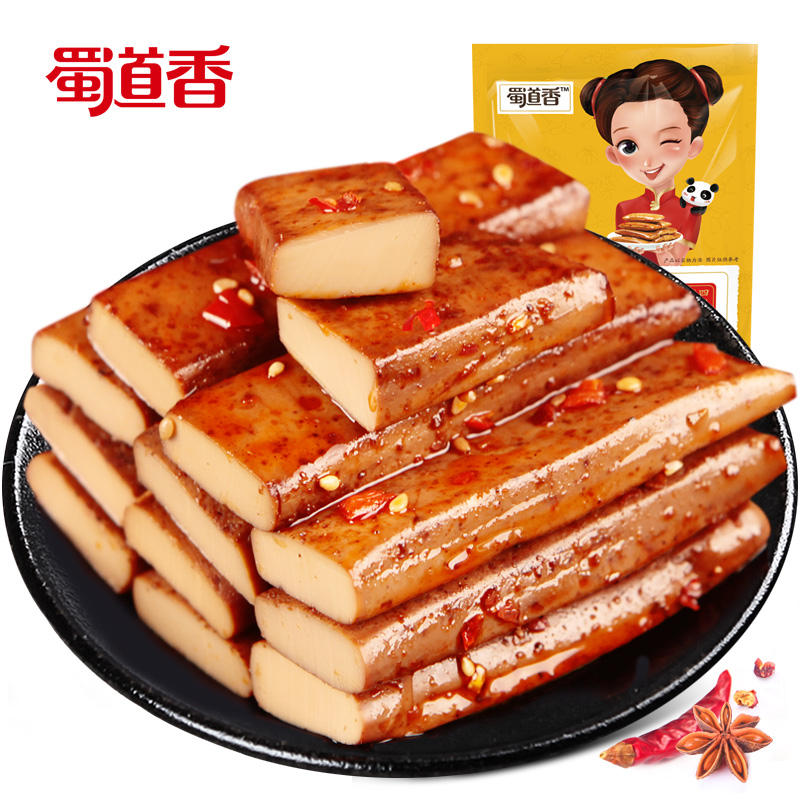 Shu Xiang Dao Itens A <span class=keywords><strong>Granel</strong></span> de Alimentos OEM 250g Picante Lanche Chinês Spicy Snack Spicy <span class=keywords><strong>Tofu</strong></span> <span class=keywords><strong>tofu</strong></span> Seco Ovo