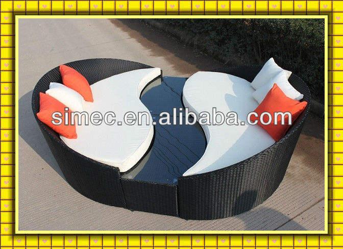 Moderno exterior muebles <span class=keywords><strong>ratan</strong></span> scsf-085