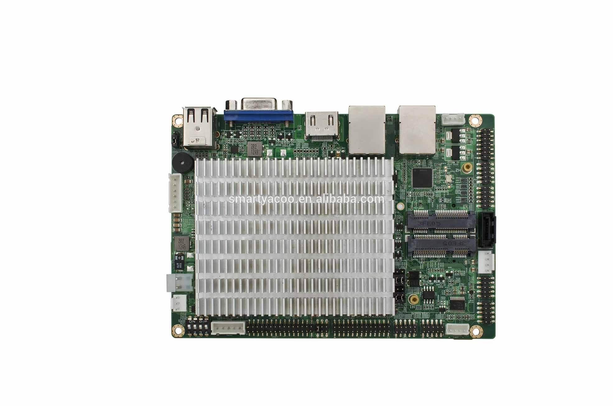 """3.5""""intel atom de cedro sendero n2600/2800 sin ventilador de la cpu sola computadora de tablero enc-5891 sbc"""