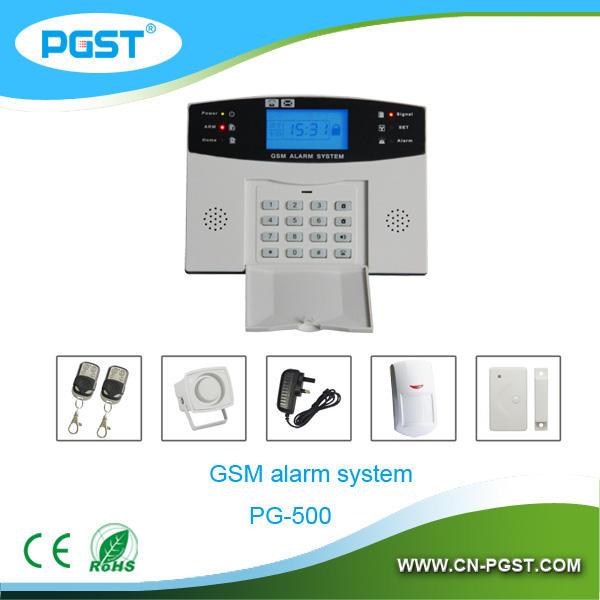 Модуль GSM SMS охранная сигнализация основе, Gsm pstn двойного сети системы охранной сигнализации, CE RoHS