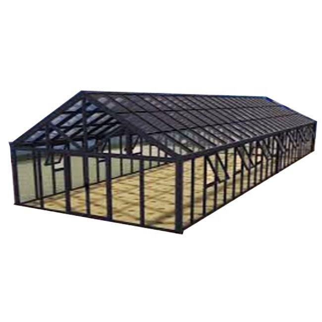 Lanying préfabriqué en acier entrepôt de matériaux de construction