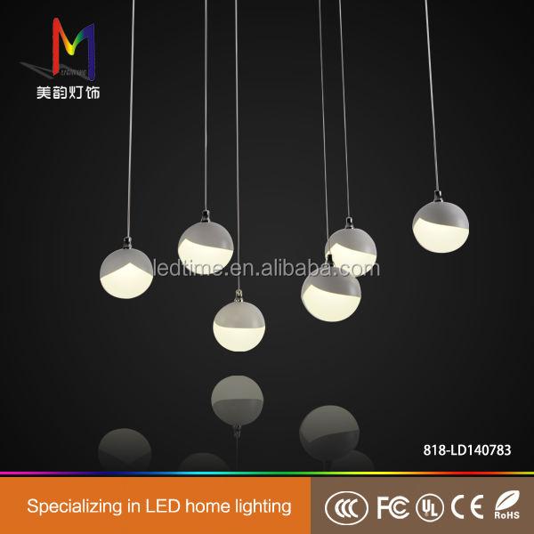 HK conciso modern colgando colgante de luz led para el hogar