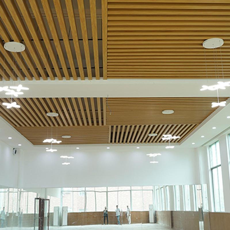 Funzione impermeabile e PVC Soffitti Soffitto Piastrelle di Tipo popolare pellicola del soffitto di stirata