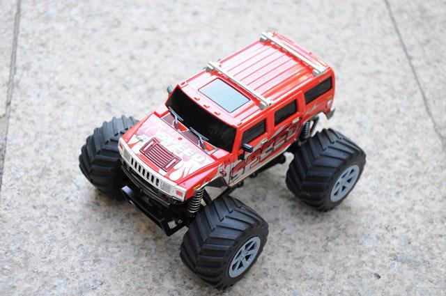 1/24 enfants voiture hummer 4wd 2.4g jeep. rtr rc camion
