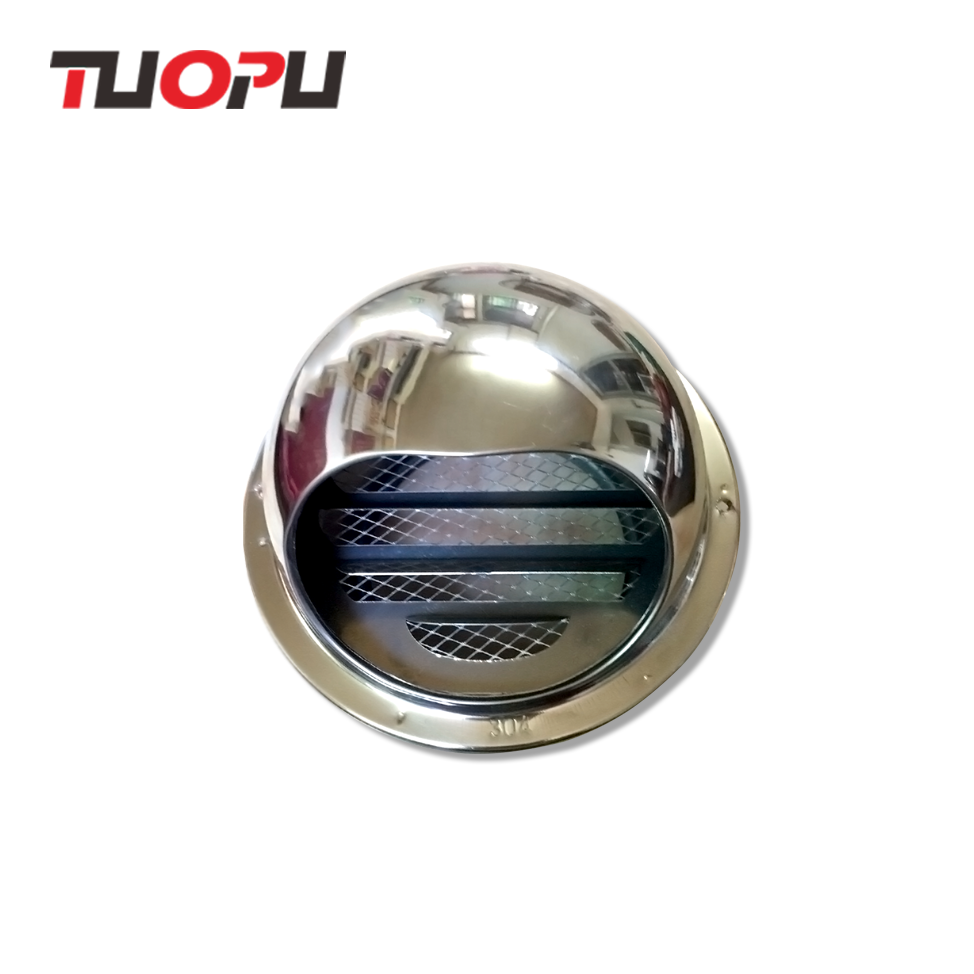Stainless steel wall vent cap Thicker SS304 wall air vent