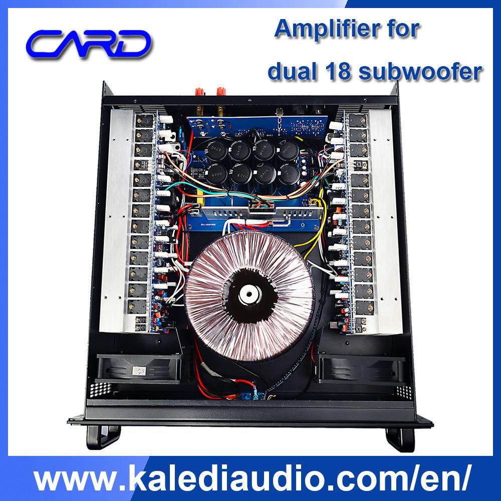 Transformador de cobre 2000 vatios 220 V amplificador para dual 18 amplificador