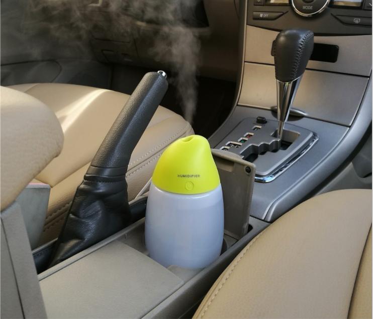 2018 Xoài Siêu Âm Aroma Essential Oil Diffuser Mát Mist Độ Ẩm đối với xe văn phòng trẻ em phòng ngủ 400 ml