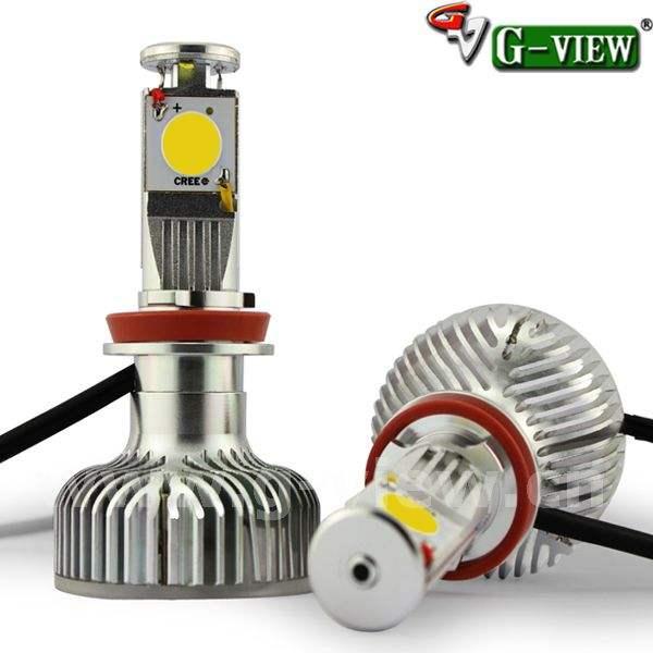 Top bán Mạnh Mẽ Power Led đèn pha H4/H7/9005 2000LM CreeLed đèn pha xe