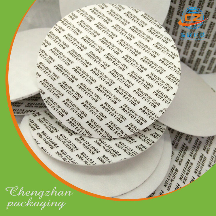 Perfil de aluminio junta puede con tapas de cierre