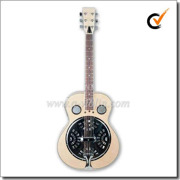 Redondo Guitarra eléctrica del <span class=keywords><strong>cuello</strong></span> Dobro Resonador con 4 bandas de ecualización (RGS98)
