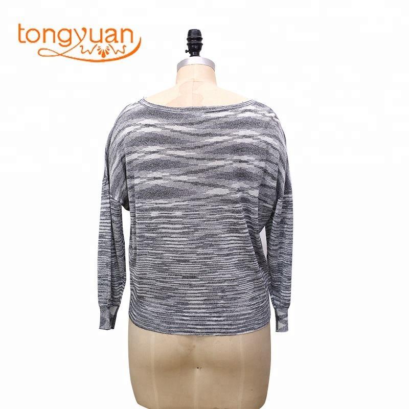 Diferente tamaño de punto <span class=keywords><strong>suéter</strong></span> de la mujer para la venta