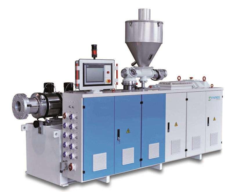 Tongling Пластиковая экструзионная линия ПВХ-труба WPC UPVC CPVC Twin / Double винтовая экструзионная машина / оборудование