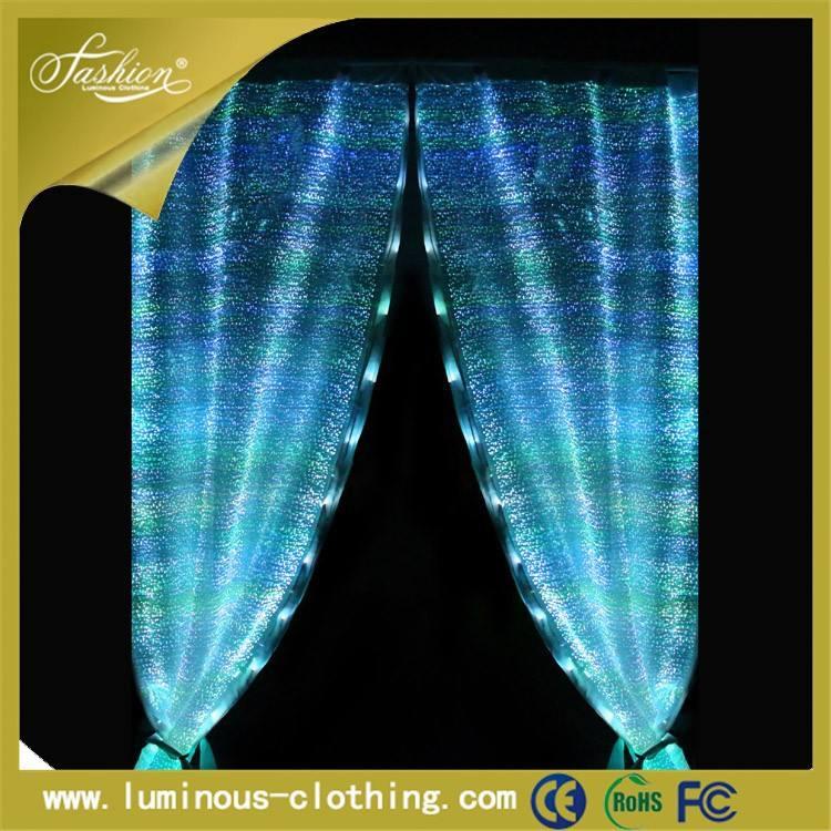 2015 de moda led decorativas de <span class=keywords><strong>China</strong></span> llevó la fábrica venta caliente impermeable cortina