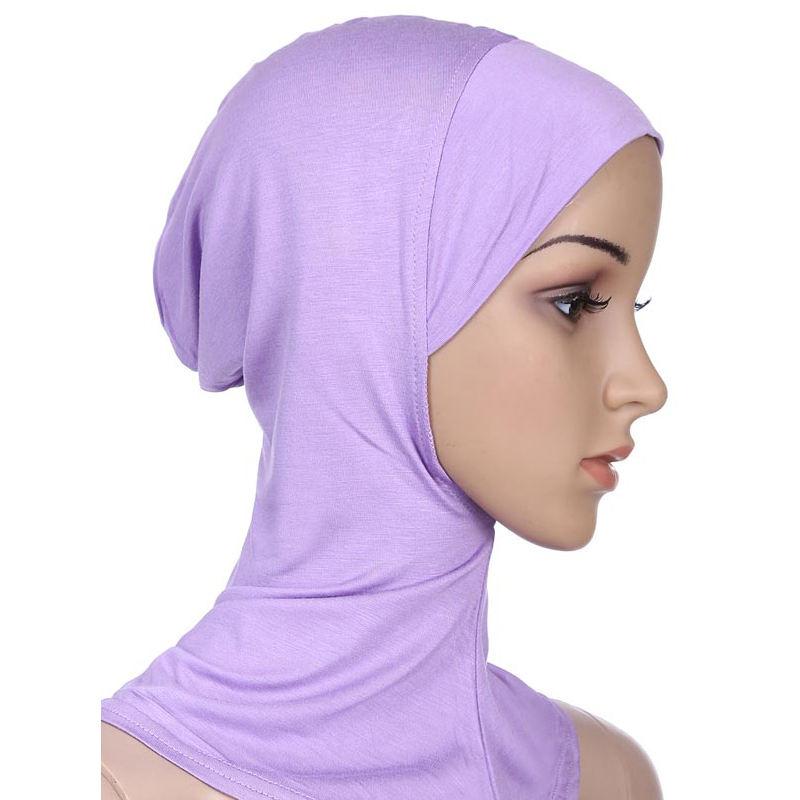mayor China 100% M Odal bajo bufanda interior Cap Bonnet hijab cuello suave bufandas mujeres hijab 20 colores
