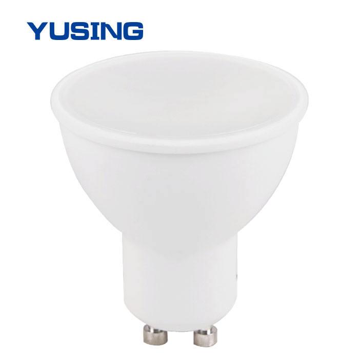 화이트 컬러 작은 GU10 전구 SMD 3 와트 LED 스포트 라이트 수출 도매