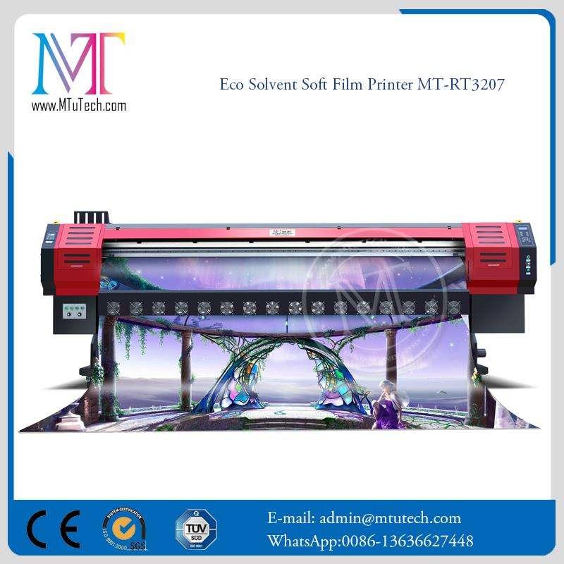 Dois Cabeça Eco Solvente impressora de Mídia Sinais de vinil pequeno