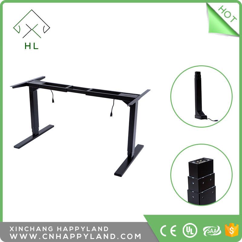 <span class=keywords><strong>Ergonomía</strong></span> escritorio de pie superventas motorizados mesas de metal ajustable de la altura eléctrica casa y offce