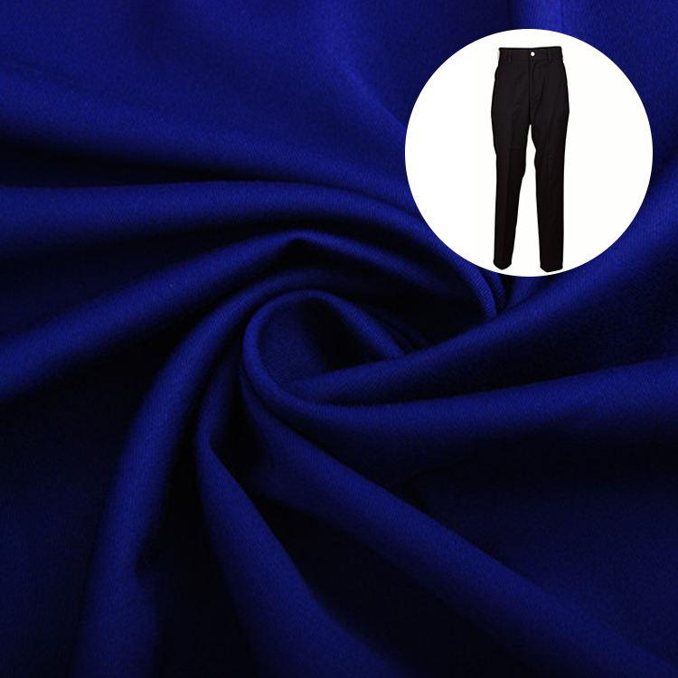 400GM 133X78 21X25 Certifié Daim <span class=keywords><strong>Polyester</strong></span> Viscose Tissu pour pantalons