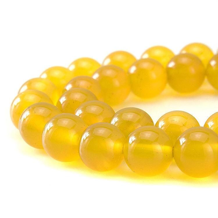 Natural piedra preciosa redonda perlas comprador ágata piedra para la venta al por mayor