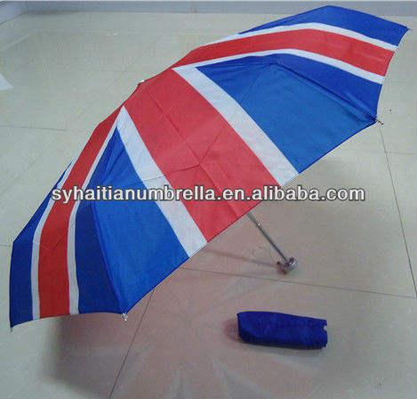De aluminio ultra- luz 5 mini veces paraguas para el reino unido