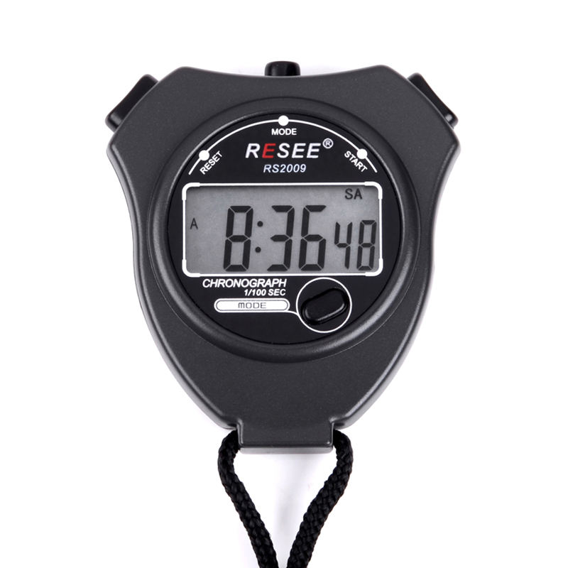 1/100 précision analogique main chronomètres