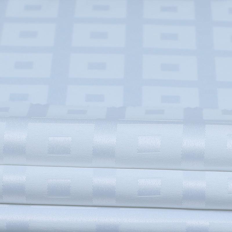 Hospital Hotel têxtil de Casa folha de tecido de poliéster branco 100%