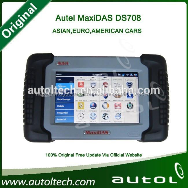 <span class=keywords><strong>Autel</strong></span> maxidas código ds708 universal scanner automotivo diagnóstico do sistema on-line de atualização de tecnologia wi-fi