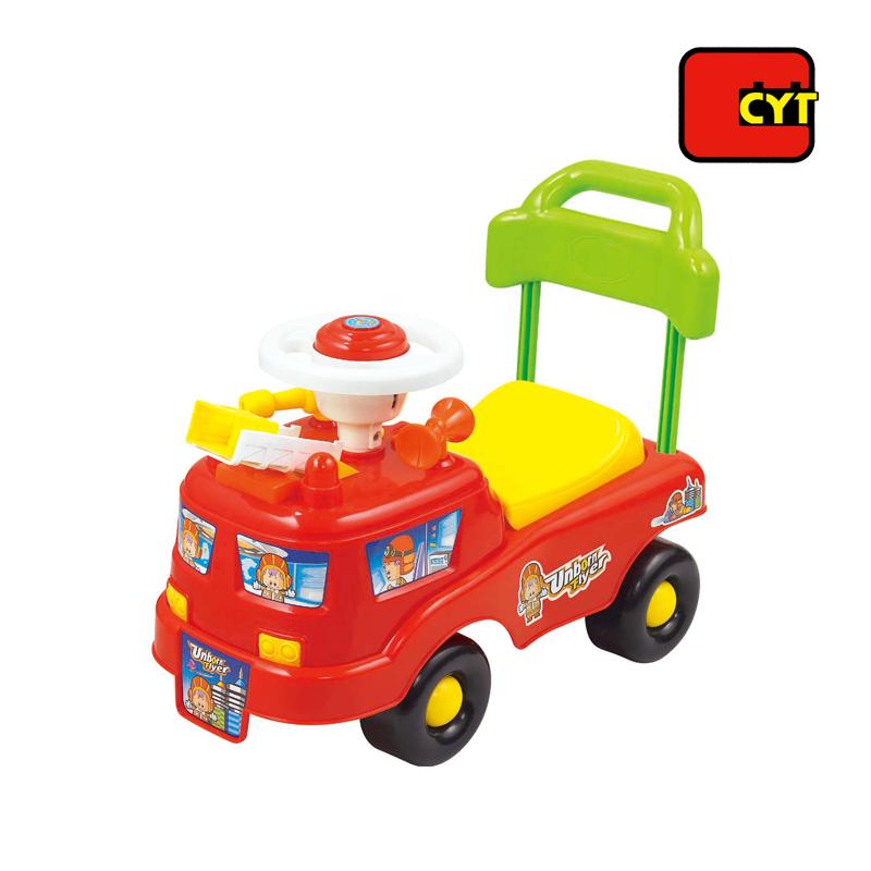 Feuerwehrauto spielzeug fahrt auf auto elektrische für baby